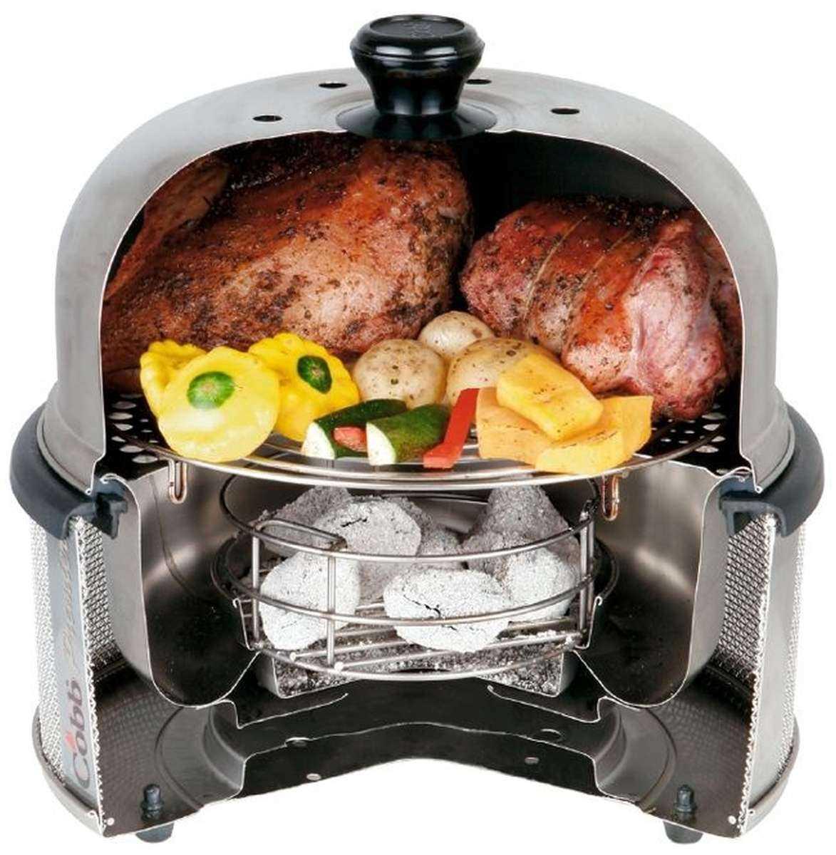 Der cobb grill premier zum grillen braten backen kochen for Mikrowelle zum backen und grillen
