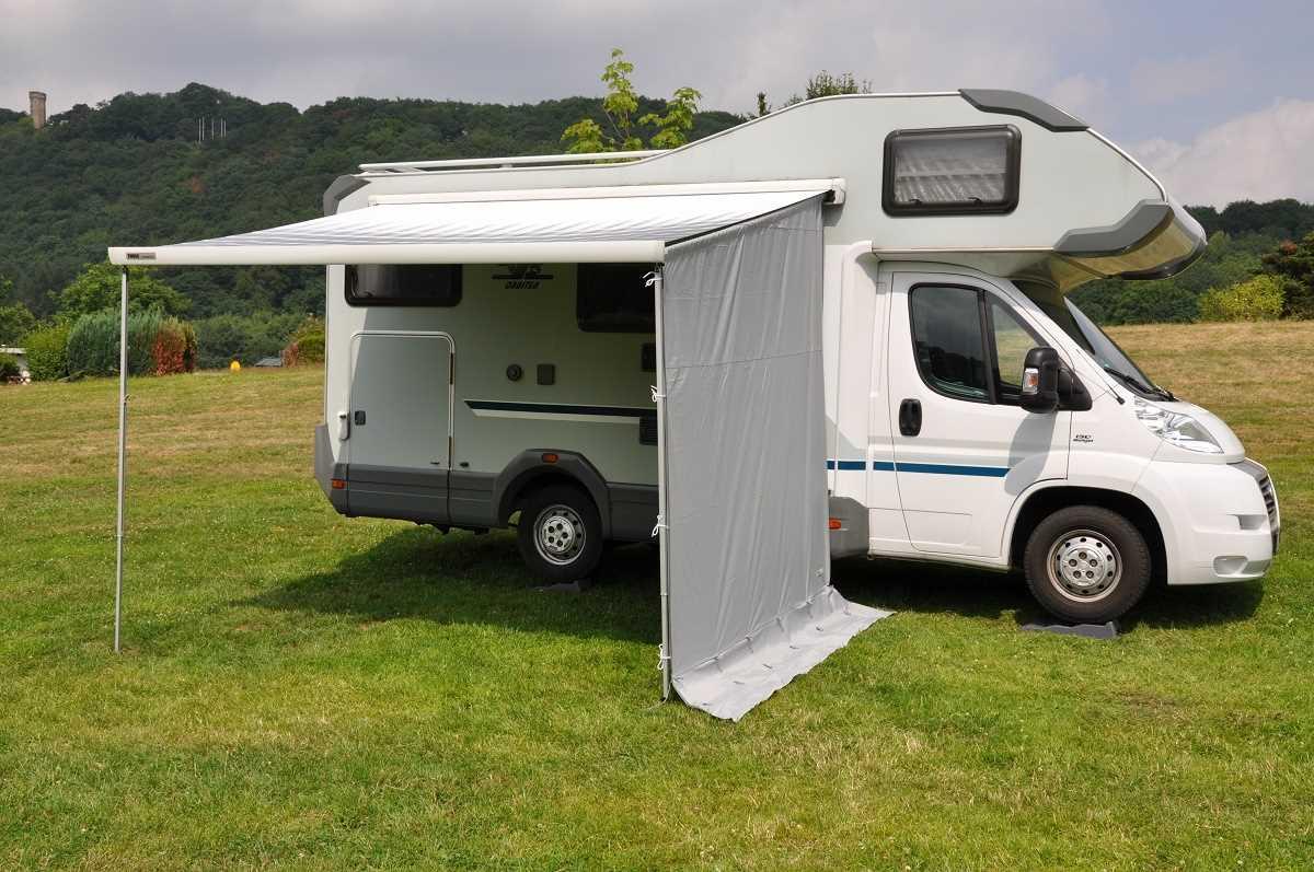 markisenseitenteil wohnwagen h 220 260cm ohne fenster ebay. Black Bedroom Furniture Sets. Home Design Ideas