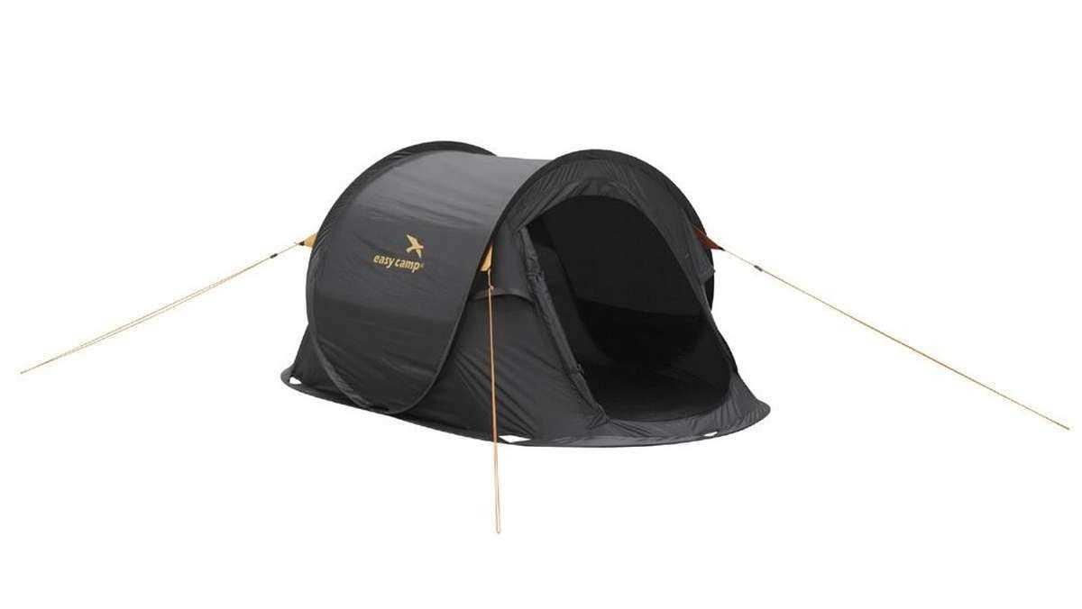 easy camp pop up zelt antic schwarz leicht gebraucht ebay. Black Bedroom Furniture Sets. Home Design Ideas