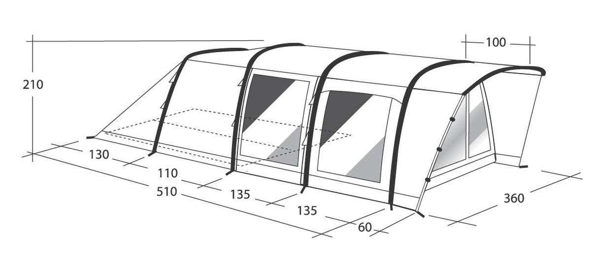 Zelt Für Zwei Personen Leicht : Outwell ferienzelt air flagstaff a zelt für personen